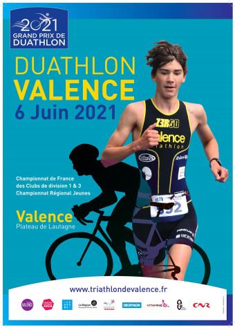 CHAMPIONNAT DE FRANCE DES CLUBS DE DIVISION 1 DE DUATHLON – ETAPE 1 – VALENCE (26)